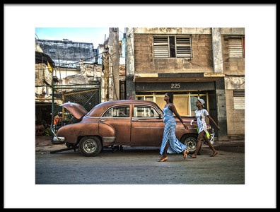 Art print titled Havana by the artist Svetlin Yosifov