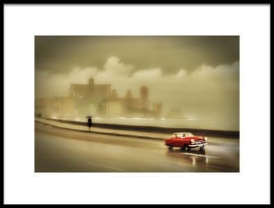 Art print titled Havana Malecon by the artist Svetlin Yosifov