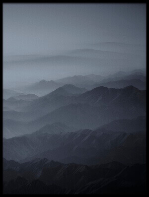 Buy this art print titled Haze Over Tibet II by the artist Martin Van Hoecke