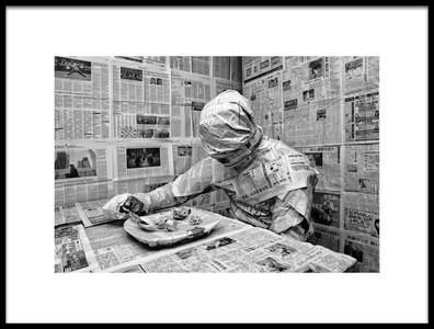 Buy this art print titled Headline News by the artist Vladimír Takáč