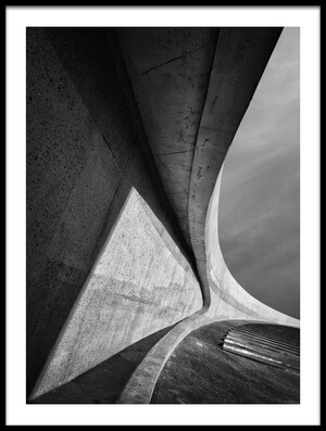 Buy this art print titled Heavy Concrete by the artist Jeroen van de Wiel