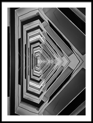 Art print titled Height by the artist Henk van Maastricht