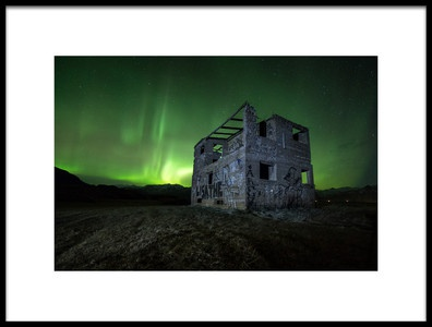 Art print titled Here Is the House by the artist Colin Bradnam