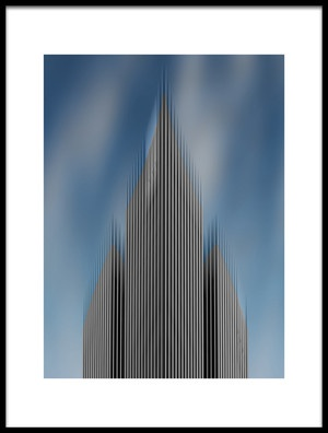 Art print titled High Rise by the artist Hayk Shalunts
