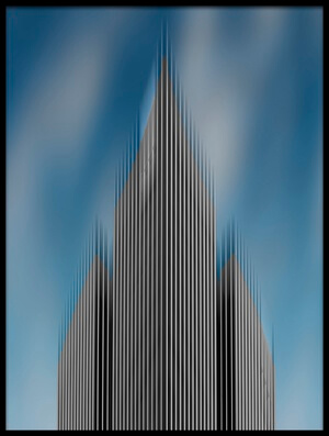 Buy this art print titled High Rise by the artist Hayk Shalunts