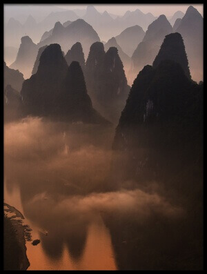Buy this art print titled Hills of the Gods by the artist Gunarto Song