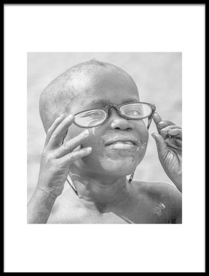 Art print titled Himba Specs by the artist John Rickwood