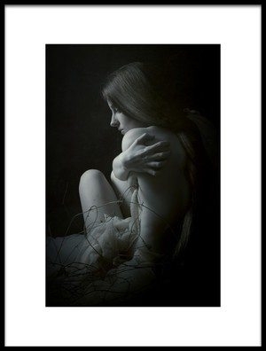 Art print titled Hollow by the artist Olga Mest