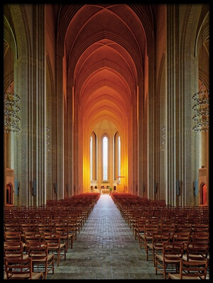 Art print titled Holy Light by the artist Martin Fleckenstein