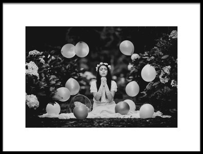 Buy this art print titled Hoping for a Miracle by the artist Yugie Potret