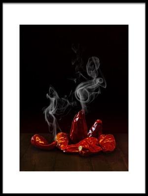 Art print titled Hot by the artist António Bernardino Coelho