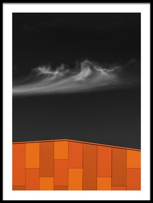 Buy this art print titled Hot Roof by the artist Luc Vangindertael (laGrange)
