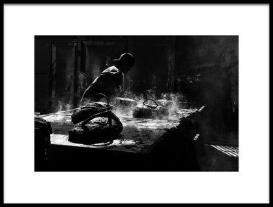 Art print titled Hot Space by the artist Arief Siswandhono