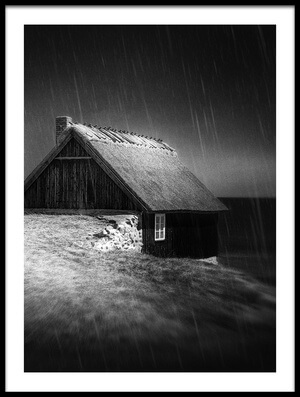 Buy this art print titled House by the Sea by the artist Gustav Davidsson