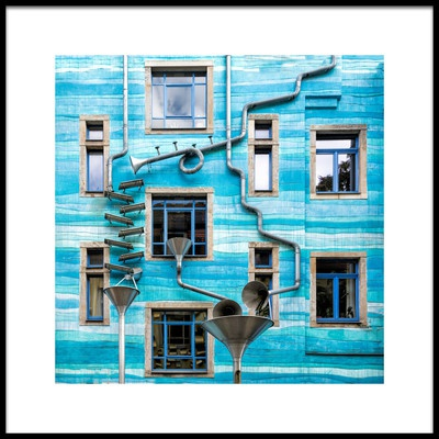 Art print titled House of the Tides by the artist Marianne Wogeck