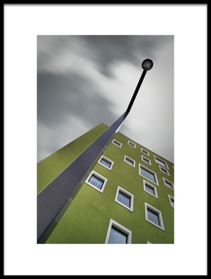 Buy this art print titled House With Lamp by the artist Dan Clausen Hansen