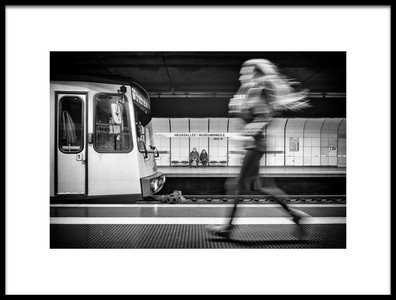 Art print titled Hurry Up by the artist Thomas Siegel