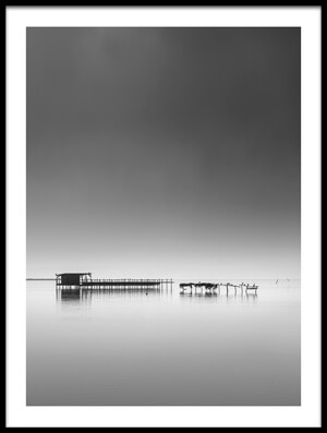 Buy this art print titled Hut In the Mist by the artist George Digalakis
