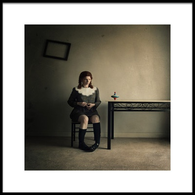 Art print titled I Did Not Grow Up by the artist Magdalena Russocka