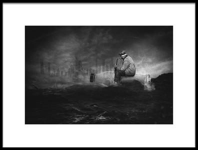 Art print titled I M Lost In a Dream by the artist Che Abu Bakar