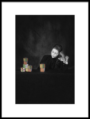 Art print titled I Really Do Not Know Anymore by the artist Carola Kayen-Mouthaan