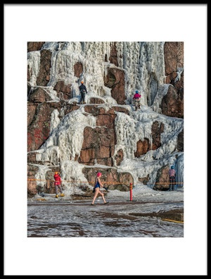 Art print titled Ice Activities by the artist Carlos_Grury_Santos