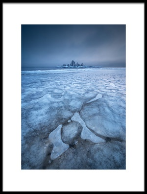 Art print titled Ice Cold Crazy by the artist Claes Thorberntsson