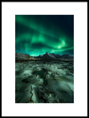 Buy this art print titled Ice Cracking by the artist Javier de la Torre