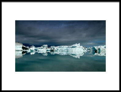Buy this art print titled Icebergs by the artist Þorsteinn H. Ingibergsson
