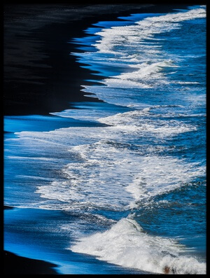 Buy this art print titled Iceland - Black Shore by the artist Michael Jurek