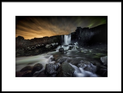 Art print titled Iceland by the artist Chris Coenders