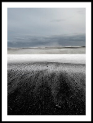 Art print titled Iceland Vik by the artist Ronny Olsson