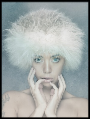 Buy this art print titled Icequeen by the artist Steven van Duin
