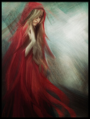 Buy this art print titled If I Was the Red and You Were the Blue by the artist Charlaine Gerber
