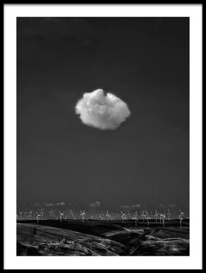 Art print titled If I Were a Cloud  by the artist Yvette Depaepe