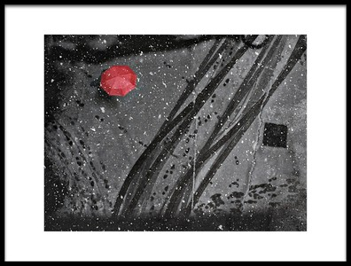Art print titled If On a Winters Day by the artist nicoleta gabor