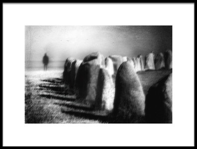 Art print titled If Only I Was Solid As a Rock by the artist Gustav Davidsson