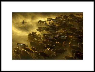 Art print titled Iler Gler by the artist dilek sakarya