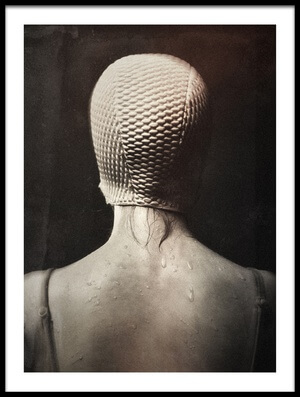 Art print titled Im Bad by the artist holger droste