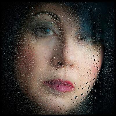 Art print titled In a Rainy Day by the artist Aida Ianeva