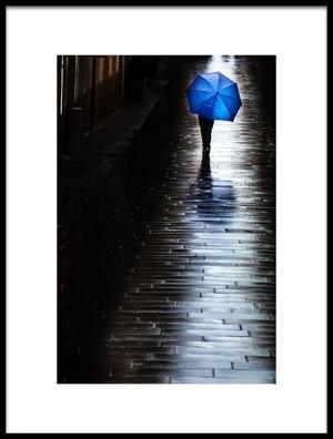 Art print titled In Blu by the artist Massimo Della Latta