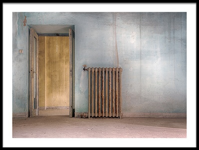 Art print titled In Case of Cold by the artist Stefano Scappazzoni