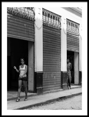 Art print titled In Havana by the artist Andrei Nicolas - The Traveler