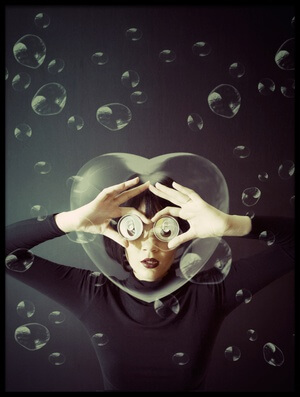 Buy this art print titled In Love With Bubble by the artist Rullyanto Wibisono