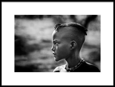 Art print titled In Profile by the artist Trevor Cole