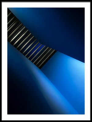 Buy this art print titled In the Blues by the artist Gilbert Claes