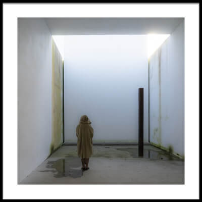 Buy this art print titled In the Chapel of Nothingness by the artist Luc Vangindertael (laGrange)