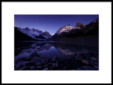 Art print titled In the Evening by the artist Adhemar Duro