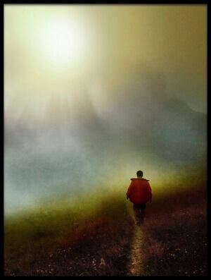 Art print titled In the Fog by the artist ibrahim kerem ozturk