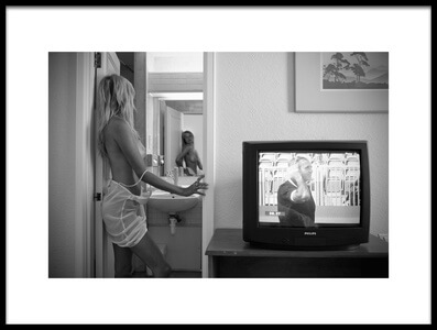 Buy this art print titled In the Hotel Room- London by the artist Vlado Bača, QEP